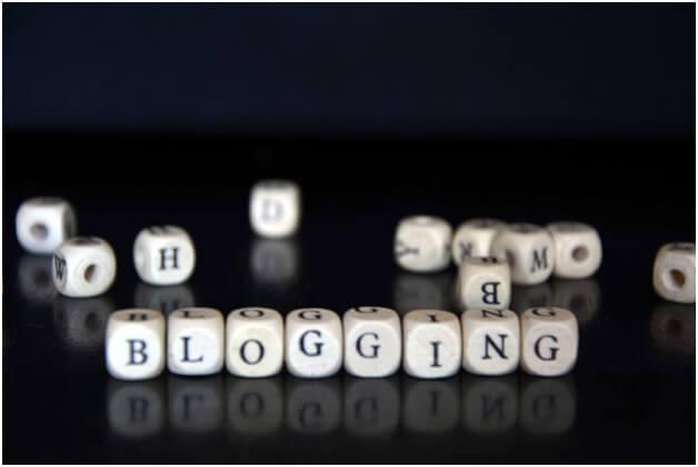 blogging dice